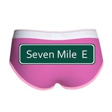 Seven Mile E Street Sign - Detro Women's Boy Brief