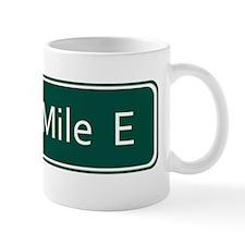 Seven Mile E Street Sign - Detroit Mug