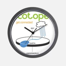 Ecotopes - Get Connected Wall Clock