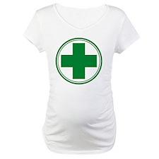 Simple Green Transparent Shirt