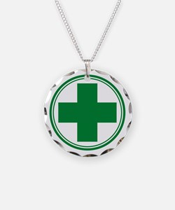 Simple Green Transparent Necklace
