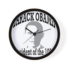 Barack Obama: Wall Clock