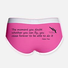 Peter Pan quote Women's Boy Brief