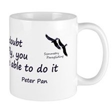 Peter Pan quote Mug