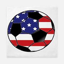 USA Soccer Ball Queen Duvet
