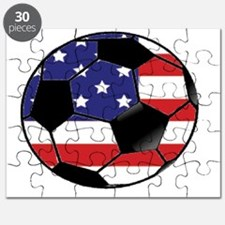 USA Soccer Ball Puzzle