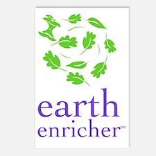 Earth Enricher Logo Postcards (Package of 8)