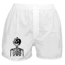 Halloween Pumpkin head  Boxer Shorts