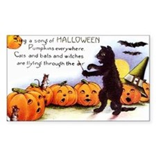 SongOfHalloweenGreetCard-a Decal
