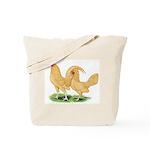 Buff Old English Bantams Tote Bag