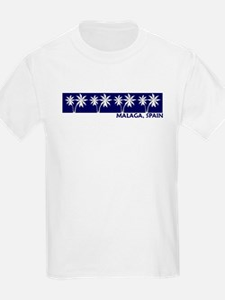 Malaga, Spain Kids T-Shirt