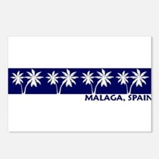 Malaga, Spain Postcards (Package of 8)