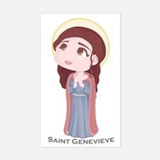 Saint Geneveive Sticker (Rectangle)