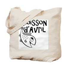 Poisson dAvril Tote Bag