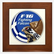 F-16 Fighting Falcon - Greece #1 Framed Tile