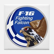 F-16 Fighting Falcon - Greece #1 Tile Coaster