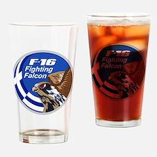 F-16 Fighting Falcon - Greece #1 Drinking Glass