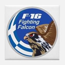 F-16 Fighting Falcon – Greece Tile Coaster