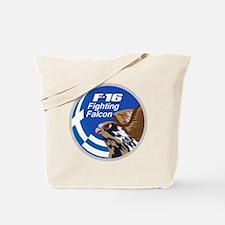 F-16 Fighting Falcon – Greece Tote Bag