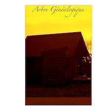 arbre genealogique Postcards (Package of 8)
