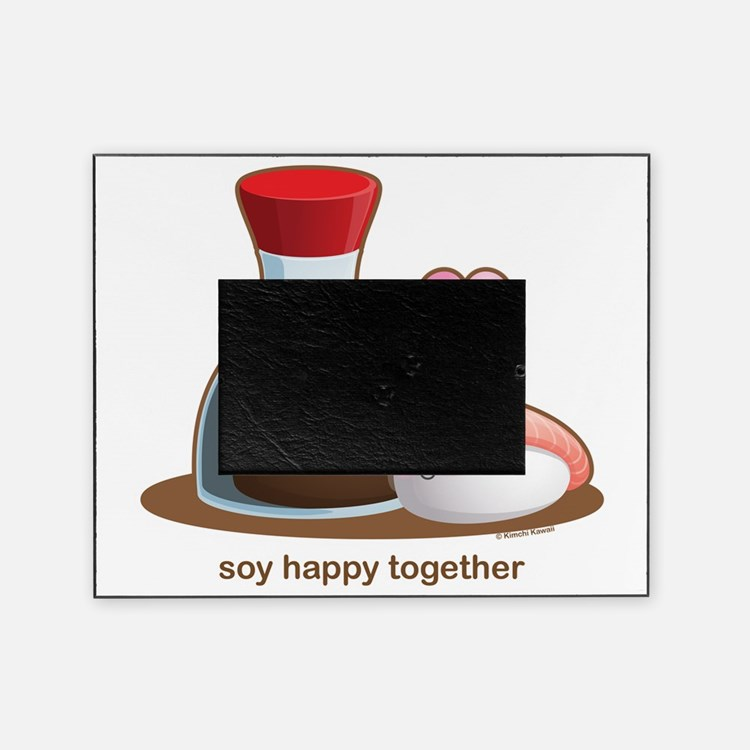 Soy Happy Picture Frame