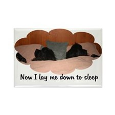 Now I lay Me Down To Sleep Rectangle Magnet