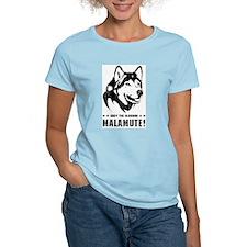 Alaskan Malamute! Women's Pink T-Shirt