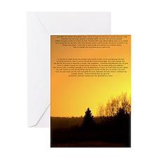 arbre genealogique Greeting Card