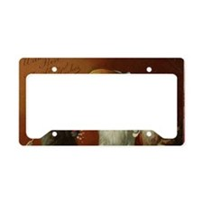 ThreeCatsGreetCard-a License Plate Holder