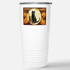 MerryHWGreetCard-a Travel Mug