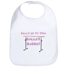 Belly Up to the Ballet Barre Bib