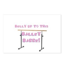 Belly Up to the Ballet Barre Postcards (Package of