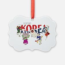Dance Korea Ornament