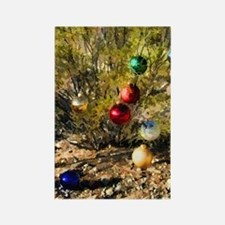 creosote xmas Rectangle Magnet
