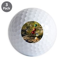 creosote xmas Golf Ball