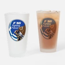 F-16 Fighting Falcon - Greece Drinking Glass