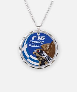 F-16 Fighting Falcon - Greec Necklace