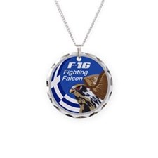 F-16 Fighting Falcon – Greec Necklace