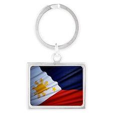 Filipino Pride Landscape Keychain