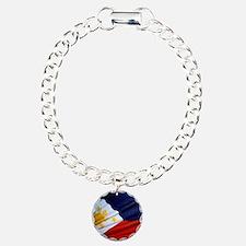 Filipino Pride Charm Bracelet, One Charm