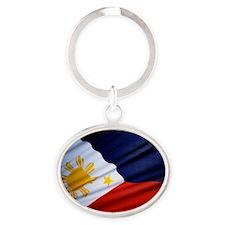 Filipino Pride Oval Keychain