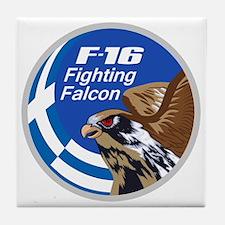 F-16 Fighting Falcon - Greece #2 Tile Coaster