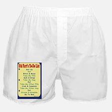 OldFartPostCard-a Boxer Shorts