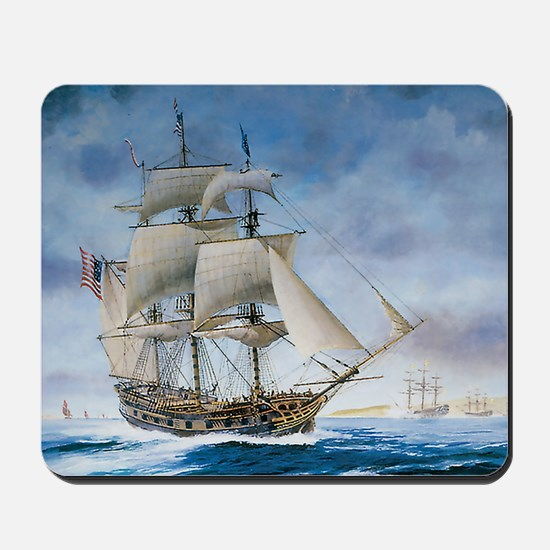 Under sail Mousepad
