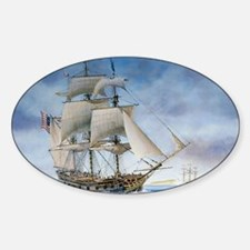 Under sail Sticker (Oval)