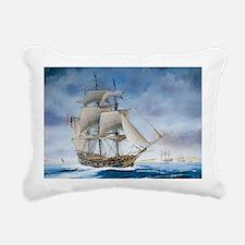 Under sail Rectangular Canvas Pillow