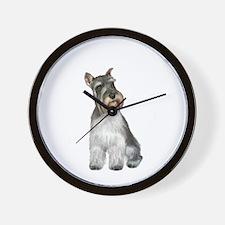 Schnauzer (11C) Wall Clock