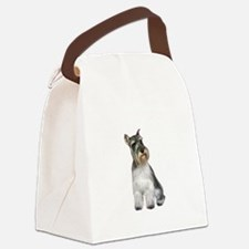 Schnauzer (11C) Canvas Lunch Bag