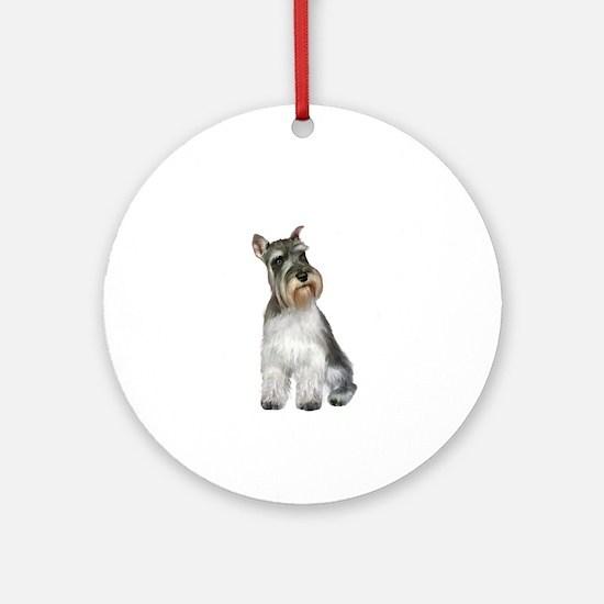 Schnauzer (11C) Ornament (Round)