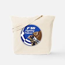 Greek F-16 Tote Bag